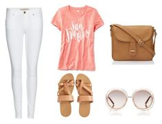 """""""a day in san fran:)"""" by lilkfo on Polyvore featuring Old Navy, Burberry, KYMA and Chloé"""