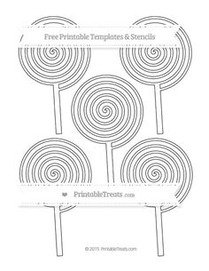 Free Tornado Template - Small | Shapes and Templates Printables ...