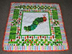 The Very Hungry Caterpillar Quilt I designed