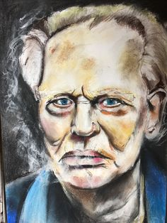 Portrait I did of Ginger Baker