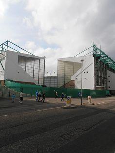Easter Road, home of Hibernian FC