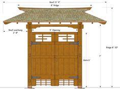 japanese gastews | Japanese Gate Plans: