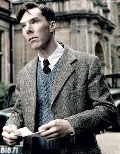 Benedict Cumberbatch, The Imitation Game.
