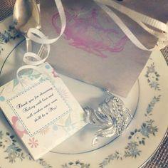 Bridal shower tea party favors