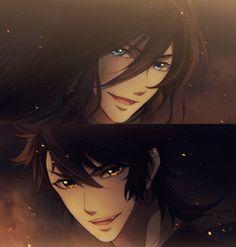 All Anime, Anime Guys, Touken Ranbu Kanesada, Sword Dance, Manga Art, Game Art, Samurai, Fandoms, Animation