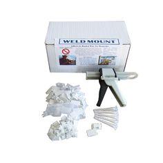 Weld Mount Complete Wire Tie Kit w/Gun, w/o Adhesive - https://www.boatpartsforless.com/shop/weld-mount-complete-wire-tie-kit-wgun-wo-adhesive/