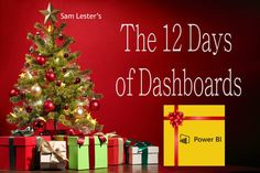 Day #10 – Exploring Twitter Data As part of my Power BI 12 Days of Dashboards series, day #10 explores Twitter data with three different interactive dashboards. I've had a Twitter account for a few years, but have only started to use it regularly over the past 6-8 months. I presented at a conference in...