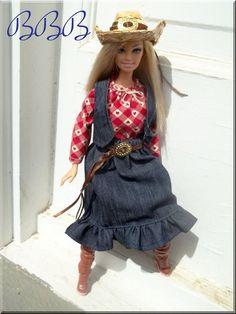 Barbie Outfit Cowgirl Barbie Country par BarbieBoutiqueBasics