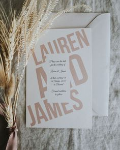 Natural colours on my favourite Almond card. Save the dates for Lauren and James. . . . . #weddinginvitation #canberrainvites… Lauren James, 16 October, Save The Date, Dates, Almond, My Favorite Things, Wedding Invitations, Colours, Natural