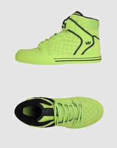 Black and yello Shoe Room, Shoe Closet, Crazy Shoes, Me Too Shoes, Supra Shoes, Street Trends, Fresh Kicks, Top Shoes, Basketball Shoes