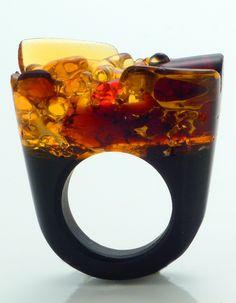 Ring | Pasionae Designs. Handmade using authentic Murano glass - artist unknown