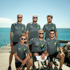 2012 - Group shot on arrival in Barbados