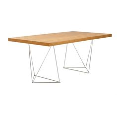 Multi Table Trestle Cherry, $499, now featured on Fab.
