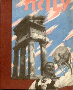Poster Sicily, 1938.