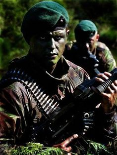 British Royal Marines.