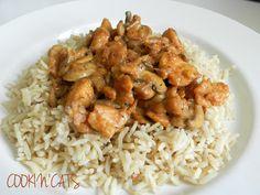 Chana Masala, Tofu, Veggies, Meat, Chicken, Cooking, Ethnic Recipes, Creme, Gluten