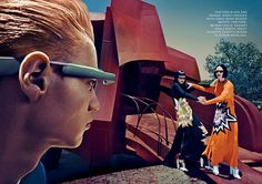 Raquel Zimmermann, Toni Garrn & Niklas Garrn by Steven Klein for Vogue US September 2013 | The Fashionography