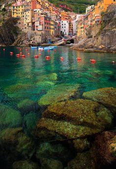 Riomaggiore Bay ~ Italy