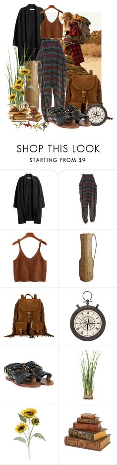 """I'm finding out my own way."" by aripatsim ❤ liked on Polyvore featuring Kansai Yamamoto, Yves Saint Laurent, Casa Cortes, Marni, Pier 1 Imports, hippie and bohochic"