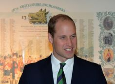 STIRLING, SCOTLAND - OCTOBER 24: Prince William, Duke of Cambridge during a visit to Stirling Castle on October 24, 2016 in Stirling, Scotland. The Duke of Cambridge in his role as Earl of Strathearn is Patron of The Thin Red Line Appeal to redevelop The Argyll and Sutherland Highlanders Regimental Museum at the Castle. (Photo by Mark Runnacles/Getty Images) via @AOL_Lifestyle Read more…