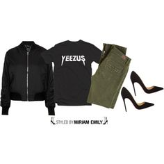 A fashion look from January 2015 featuring Topshop jackets, Paige Denim pants and Christian Louboutin pumps. Browse and shop related looks.