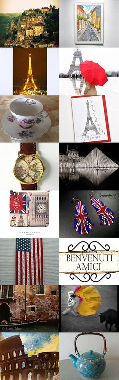 A trip around the world by Carley Marston on Etsy--Pinned with TreasuryPin.com