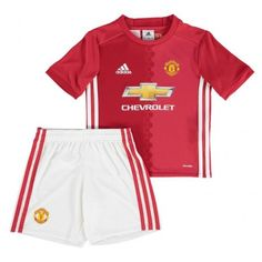 bef622867be5a Maillot Manchester United Enfant 2016-2017 Domicile Manchester United  Soccer