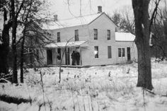 Ed Gein's house of horrors: Police first suspected Gein to be involved in the disappearance of store clerk, Bernice Worden on Nov. 16, 1957. Upon entering the property, they made the disturbing discovery of Worden's corpse that had been decapitated and her body hung upside down with ropes at her wrists and a crossbar at her ankles. The body's torso was split open and empty. She had been shot by a .22-caliber rifle and the mutilations were made after her death.