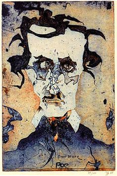 horst janssen | Horst Janssen: Edgar Allan Poe