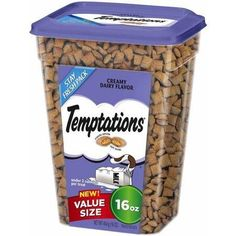 Whiskas Temptations Cat Treats Creamy Dairy Flavor 16oz ** Check out the image by visiting the link.