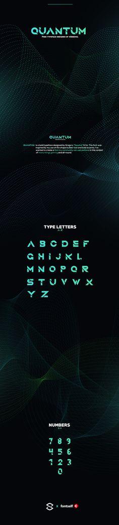 FREE modern display font.