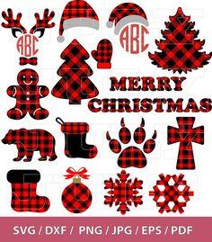 70 % OFF Buffalo Plaid Designs Buffalo Plaid Clipart Plaid Cricut Christmas Ideas, Christmas Svg, Plaid Christmas, Christmas Printables, Christmas Shirts, Rustic Christmas, Xmas, Christmas Stuff, Christmas Decor