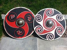 *XMAS 2016 - IF YOU WOULD LIKE TO PURCHASE A SHIELD TO ARRIVE IN TIME FOR XMAS, PLEASE BE ADVISED OUR FINAL ORDER DATE FOR THIS WILL BE 25TH NOVEMBER 2016 - AFTER THIS DATE WE CANNOT GUARANTEE YOUR SHIELD WILL BE BUILT AND POSTED IN TIME TO ARRIVE WITH YOU FOR XMAS* Handmade, fully customised Viking shields made to the highest standard we can achieve. Available as both decorative or a fully combat ready piece, each shield is made to order and to individual specifications. Each shield is…