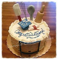 Pastry Chef Graduation Cake #Graduation