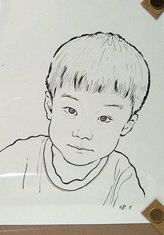 Rotring Art pen kid drawing