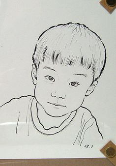 Rotring Art pen kid drawing