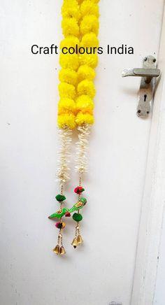 Diwali Decorations, Indian Wedding Decorations, Door Entryway, Traditional Decor, Marigold, Door Hangings, Gifts For Friends, Best Gifts, Jasmine