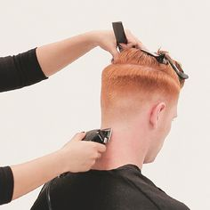 Men's Overdirected Clipper Cut from TONIandGUY - Behindthechair.com Casual Hairstyles For Men, Simply Hairstyles, Young Mens Hairstyles, Young Men Haircuts, Professional Hairstyles, Men's Hairstyles, Latino Haircuts, Mens Clipper Cuts, Toni And Guy Salon