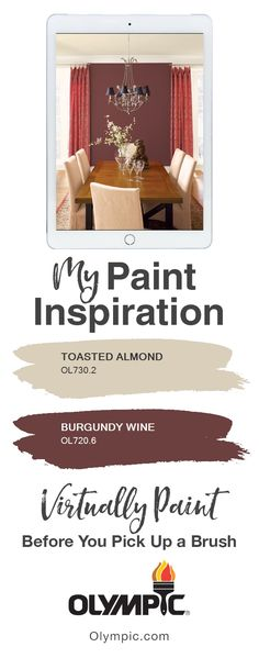 Digitally paint your own room with your favorite colors, in just a few clicks! Upload your picture to find the perfect color combination for your next painting project.