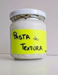 Receta de Pasta de Textura creceta de pasta de textura caseraasera low cost - De Norte A Sur Pasta Casera, Diy And Crafts, Arts And Crafts, Texture Paste, Homemade Art, Sculpture Painting, Pasta Flexible, Cold Porcelain, Diy Art