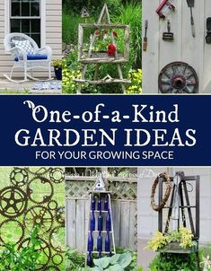 High Quality One Of A Kind Garden Ideas For Your Growing Space