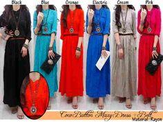 Hijab Maxi Coco Button C433