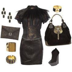 """Nice for Fall! Edgy""""evesapple.com"""" by eves-apple on Polyvore"""