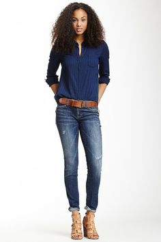 Jessica Low Rise Jegging by Dittos on @HauteLook