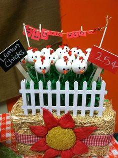 Chicken cake pops