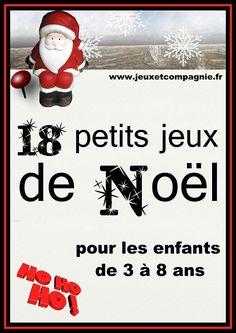 petits jeux de noël Noel Christmas, Christmas Games, Christmas Activities, Winter Christmas, Christmas Crafts, Xmas, Holiday, Teaching Activities, Educational Activities