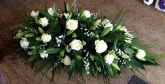Funeral Flower Arrangements, Beautiful Flower Arrangements, Funeral Flowers, Floral Arrangements, Beautiful Flowers, Funeral Sprays, Black Flowers, Wedding Decorations, Wreaths