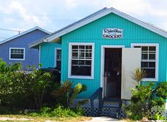Mrs. Robertha's grocery store, Green Turtle Cay, Abaco, Bahamas. Save Save