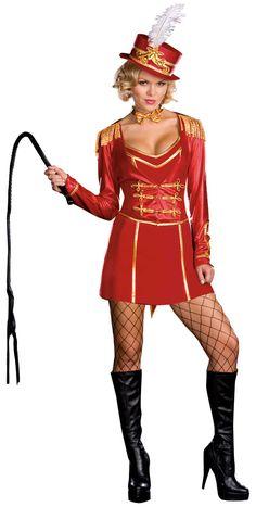 Ringmaster Sexy Costume - Circus Costumes