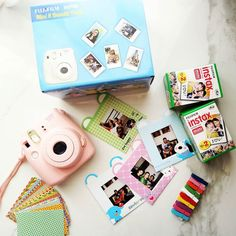 Ok  I admit it.  I'm #instaxicated ! Have been playing with this lil baby all weekend and have just a few pics to show coz the rest are with friends.  The @instaxindia #InstaxMini8 bundle pack makes for a great #ChristmasGift for kids as well as adults and comes with cute stickers  bunting frames and film. #Instantpicture = #instantfun